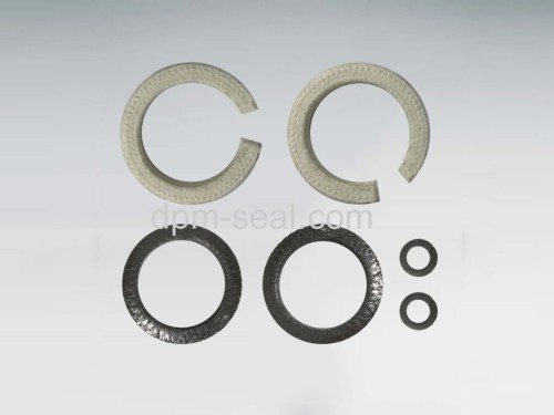 Stem packing rings combination