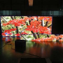 Installation suspendue suspendue publicité écran LED couleur couleur