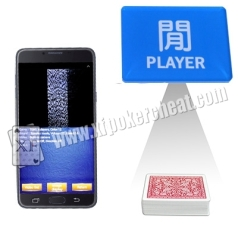 Poker Cards Camera Scanner Baccarat Cheat System For Barcode Marked Cards