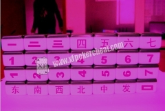 Mahjong Cheating Devices / Infrared Marked Mahjong Tiles For Gamble Cheating