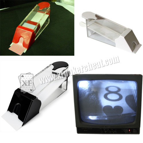 Baccarat/Blackjack Poker Shoes Poker Cheat Devices Used In Casino Games
