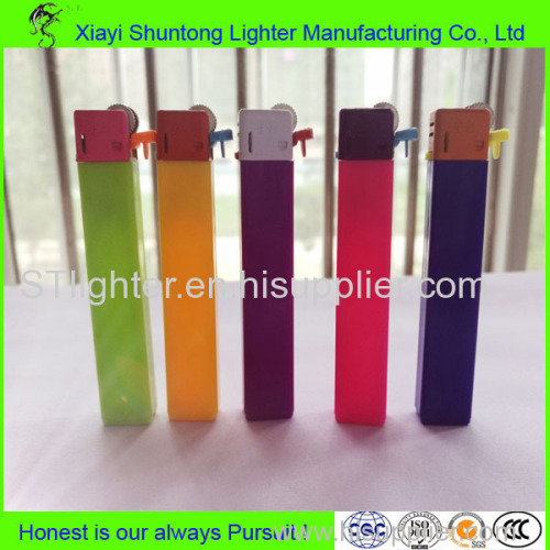 Factory Produced Long Working Mini Candy Color Flint Lighter