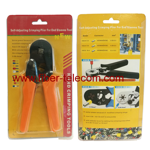 Self-adjusting Crimping Plier For End Sleeves Tool