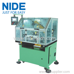 Eelctric motor cummutator armature rotor turning machine equipments
