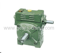 china manufacturer WPS worm gearbox