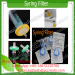 Filter syring filter vacuum filter for making steroid injection gear