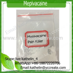 Regional anesthesia Pain Killer Powder Mepivacaine local anesthetic Carbocaine /Polocaine CAS 22801-44-1