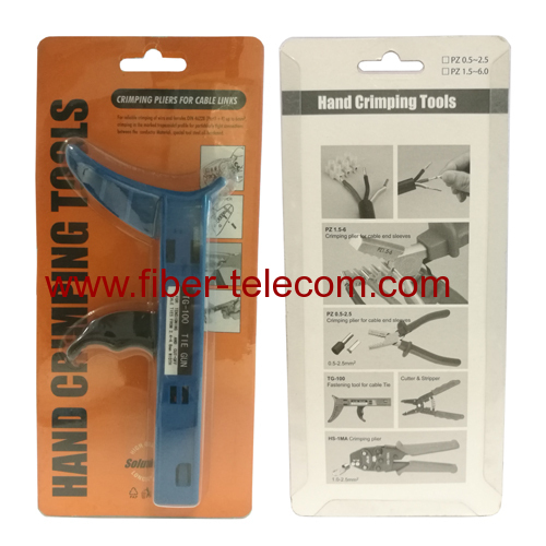 Fastening and cutting tool special Cable Tie Gun