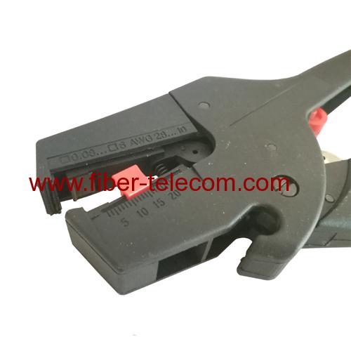 Self-Adjusting Insulation Stripper Wire Fasten Tools