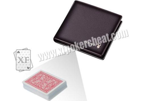 Playboy Short Wallet Infrared Poker Scanner PK King Poker Analyzer Poker Cheat Tools