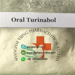 Gaining Muscle 4-Chlorodehydromethyltestosterone Raw Testosterone Powder Oral Turinabol 99% Purity