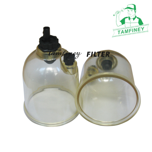 Racor 500FG Turbine Fuel Filter's water bowl