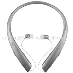 Wholesale LG-Tone Platinum HBS-1100 Headset In-Ear Behind-The-Neck Mount Wireless Headphone For iPhone Smartphone Silver