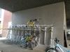 Double decker bicycle rack