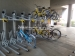 Two decker bicycle rack