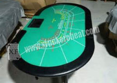 Casino Gaming Baccarat Table For Magic Tricks Invisible Ink Marked Playing Cards