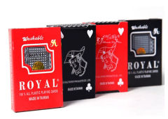 Taiwan Royal Plastic Marked Poker Cards Fade Resistant Cheating Playing Cards