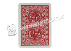 Marked Bicycle Paper Playing Cards With UV Ink Markings For Invisible Glasses And Lenses