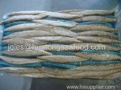frozen pacific mackerel loin frozen mackerel loin scomber japonicus loin whole mackerel chub mackerel loin