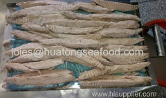 frozen precooked skip jack tuna 100%loin for canning with competitive price with HACCP/FDA/BRC