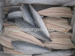 frozen GRADE A spanish mackerel fillet IQF 120-150g on sale with competitive price For Japanese market