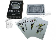Taiwan Royal Bone Plastic Poker Card For Gambling And Magic With 2 Regular Index