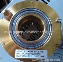 Elevator parts encoder HG 900E4096 for Thyssenkrupp
