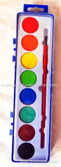 8 colors Solid Watercolor Paint set