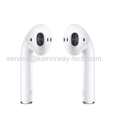 Wholesale Apple Airpods In-ear Bluetooth Wireless Headphone Earbuds White With W1 Chip