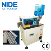 stator slot insulation paper wedge forming and cutting machine