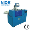 Electric motor stator insulation paper inserting machine