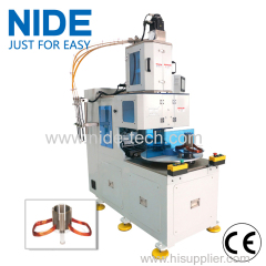 NIDE FULL automatic two working stations stator coil winding machine