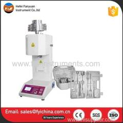Extrusion Plastometer MFI Plastic Melt Flow Index Testing Machine