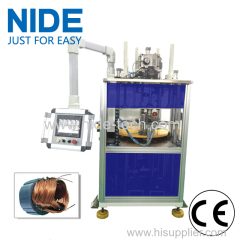 Automatic generator stator coil winding insertion machine
