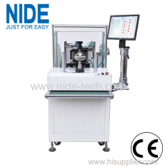 External armature inslot coil winding machine for induciton motor stator