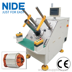 Fan Motor Stator Semi-automatic Coil Inserter equipment for three phase motor