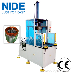 Enter and Exit Station Stator Coil Middle Forming Machine