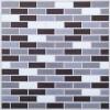 Pearl Mini Brick Vinyl Backsplash Tile 3D Wall Decal