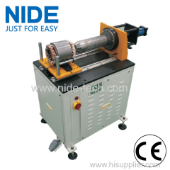 horizontal structure Stator inner wedge expand machine