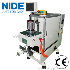 semi automatic Pump motor automatic stator coil lacing machine