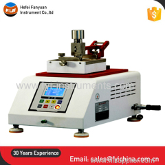 Leather abrasion testing machine