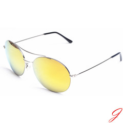 Aviator style sunglasses fashion polarized mirror lens sunglasses wholeasale glasses for man