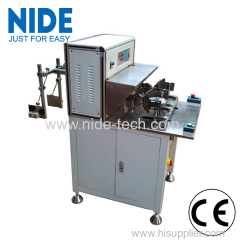 External rotor table fan motor stator winding machine