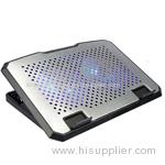 Techcool large fan 17 inch laptop cooling pad cooler pad for laptop