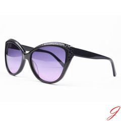 Hot sale acetate sunglasses polarized mirror lens sunglasses for women wam