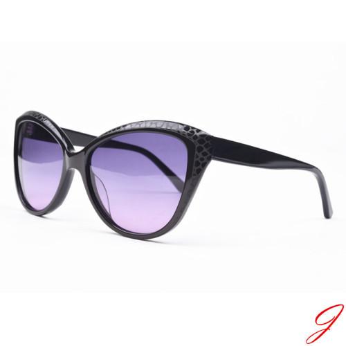 Hot sale acetate sunglasses polarized mirror lens sunglasses for women wam