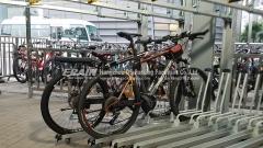 double tier cycle racks