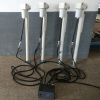 four corner electric camper jacks with controller and remote
