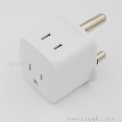 Universal Travel Wall Safety Power Plug Adapter US/UK/EU/AU to South Africa