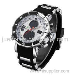 WEIDE Alloy case custom silicone watches